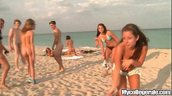 Mycollegerule Beach Dorm Blowjob 6 min