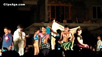 Public desi Telugu natukatti featuring local randis nude on stage 44 sec
