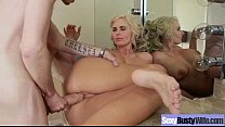 Mature Wife (phoenix marie) With Big Juggs Play Hard On Tape clip-22