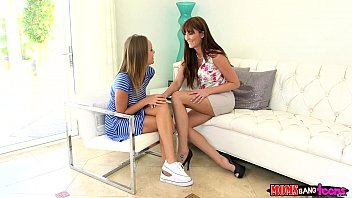 Moms Bang Teen  - Milf gives couple some sex therapy 10 min