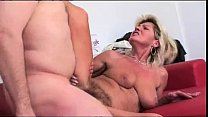 Hairy granny squirts 6 min