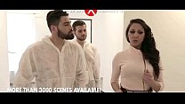Martina Gold banged by two plumbers 30 sec