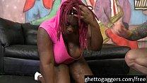 Ebony BBW Marley XXX Gets Her Throat Used