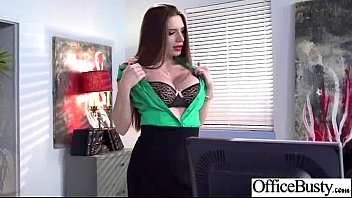(veronica vain) Office Girl With Big Tits Bang In Hard Style Action vid-30