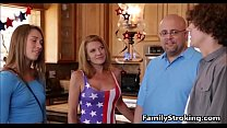 Fucking New Step Sister My Old Fuck Buddy On The 4th Of July-FamilyStroking.com 8 min
