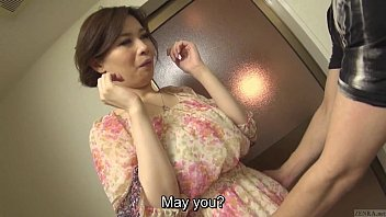 Uncensored voluptuous Japanese Yuko Iijima stripped Subtitled 5 min