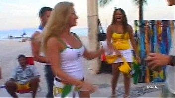 Exotic brazilian babes banged doggystyle! 30 min