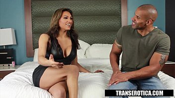 Trans Erotica - Jessy Dubai Takes the Black Dick