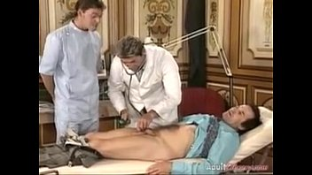 German Wife fucked by two doctors - p..com 23 min