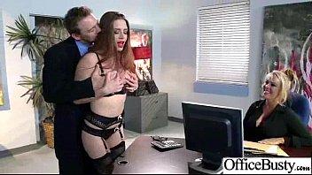 Big Round Tits Girl (veronica vain) Get Hard Banged In Office movie-29