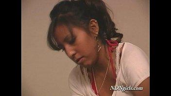 NDNgirls.com native american indian teen blowjob ft. Raina 24 min