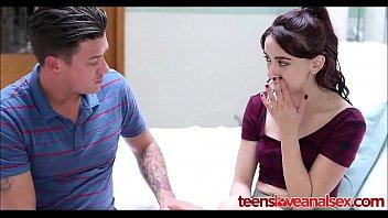 Step Brother Teaching His Teen Sister Anal Sex - TeensLoveAnalSex.com