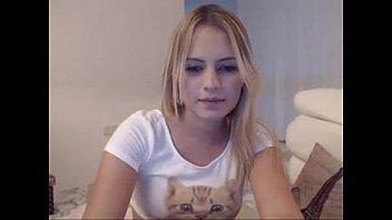 Cute Blonde twerking and pussy closeup - tightpussycam.com