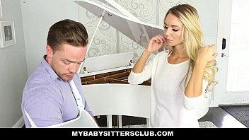 MyBabySittersClub - Blonde Teen Babysitter (Molly Mae) Helps Me Cum 10 min