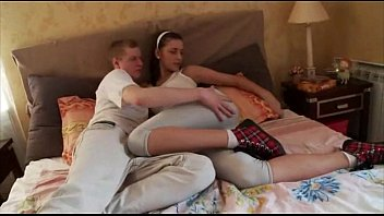 Brother Destroys Russian Sister With Anal