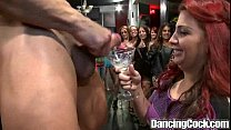 Dancingcock Interracial Blowjob Orgy