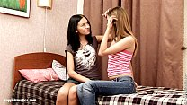 Hot lesbian action with Bethany and Sasha on Sapphic Erotica