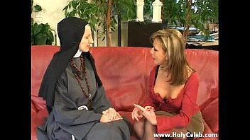 Fisting the Nun Wild and Hard