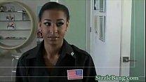 Black Ebony Beauty Fucking with Huge Cock BBC
