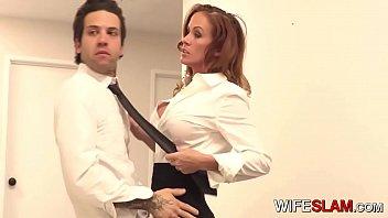Hot Slutwife Sabrina Cyns Fucks Her Co-worker 7 min