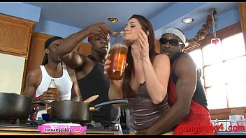 Cici Rhodes analyzed by big black cocks in many positions
