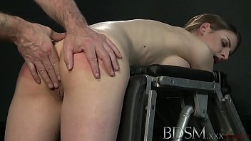 YouPorn - BDSM XXX Young big breasted sub gets hard anal from her Master 14 min