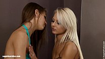 Juliette and Anneli lesbian sex on Sapphic Erotica