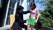 She's well banged by a stooge of a boss 22 min