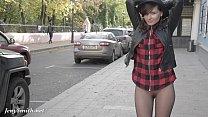 Jeny Smith pantyhose fire walking 6 min