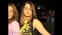 Club Upskirt video featuring 2 Party Girls that show their panties