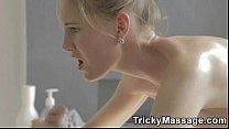 MassageRoom Hard-Sex Featuring Pretty Euro Teen 6 min