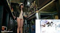 Jeny Smith naked barmaid on duty 7 min