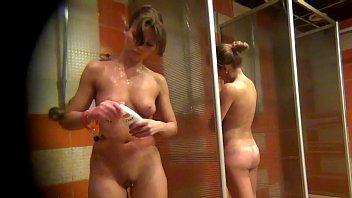 spy camera in the women's shower Sports Club