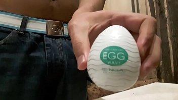 Tenga egg masturbaiting toy
