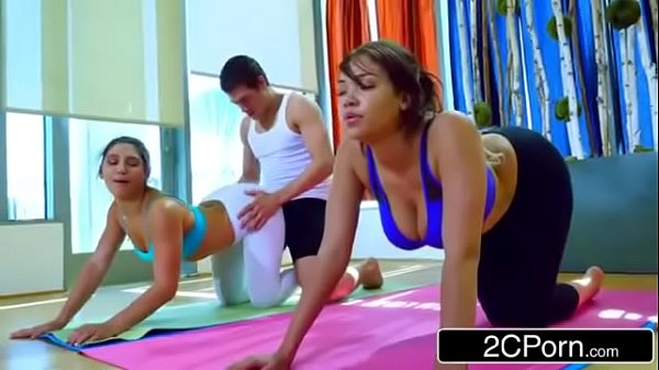 Gorgeous Big Ass Babes Fucked By Sleazy Yoga Instructor - Abella Danger, Cassidy Banks
