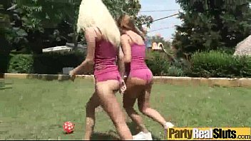 At Party Girls (candy & katarina) Get Wild And Sluty In Group Sex Act video-18