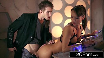Doctor Who XXX Parody: Busty Babe Franceska Jaimes Fucks Hero for Saving Her