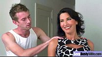 Hard Style Sex On Tape With Big Melon Tits Hot Mommy (lezley zen) movie-22 7 min