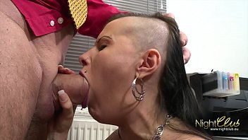 Tattooed German Amateur fucked by big dick