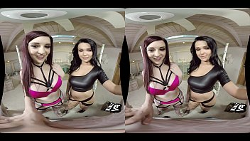 Intense Threesome With 2 Hot Escorts! (VR)