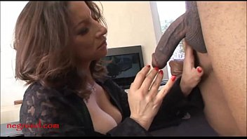 Negroed.com mature old mom with too much makeup takes black negro 12 min