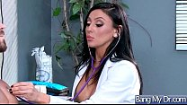 Hard Sex Between Doctor And Hot Patient (Audrey Bitoni) video-03
