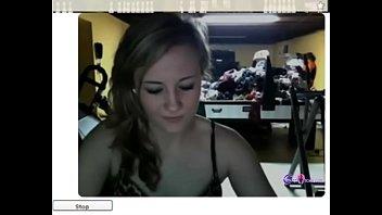 Sexy blonde strippting on cam - gspotcam.com