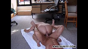 Chubby amateur Stepmom gets fucked in all positions 12 min