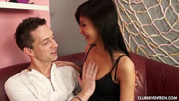 Slim teen gets nailed on casting couch