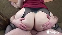 PAWG Naomi St Claire Smothers A Little White Dick