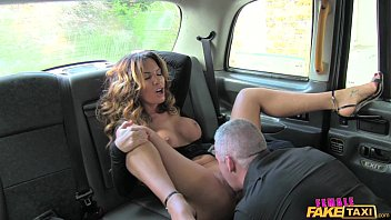 Female Fake Taxi Sexy driver loves a hard cock 12 min