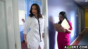 Hot doctor Chanel 3some fuck at the hospital