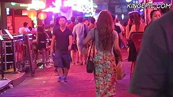 Bangkok Nightlife - Hot Thai Girls & Ladyboys (Thailand, Soi Cowboy) 30 min