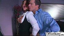 (Eva Angelina) Big Huge Tits Office Girl Love Intercorse video-22